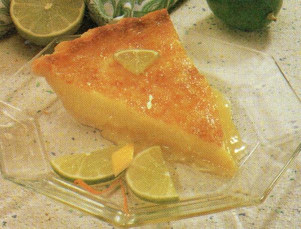 Torta de Limão Verde