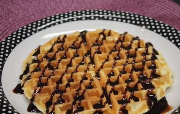 Waffle para a criançada