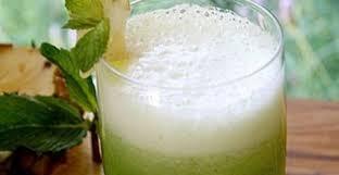 suco de abacaxi com ortela