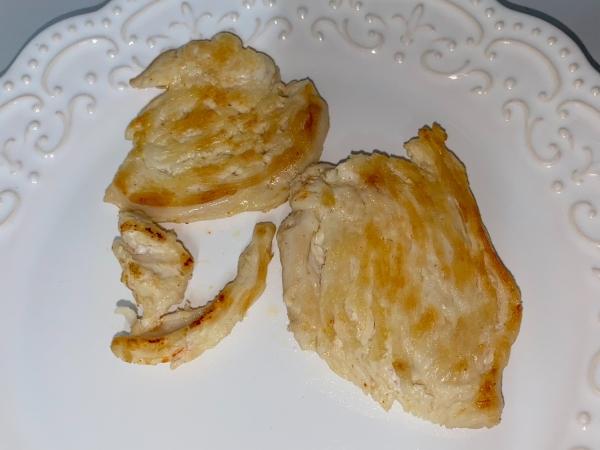 Filé de frango grelhado +12m