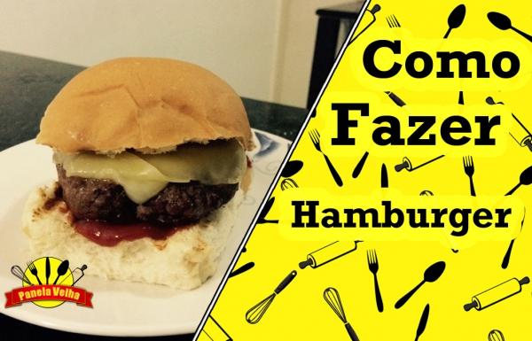 Hambúrger rápido e fácil
