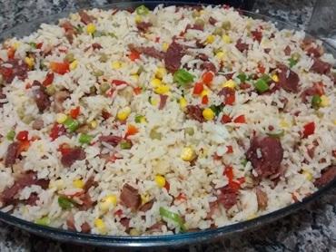 arroz carreteiro da bruna
