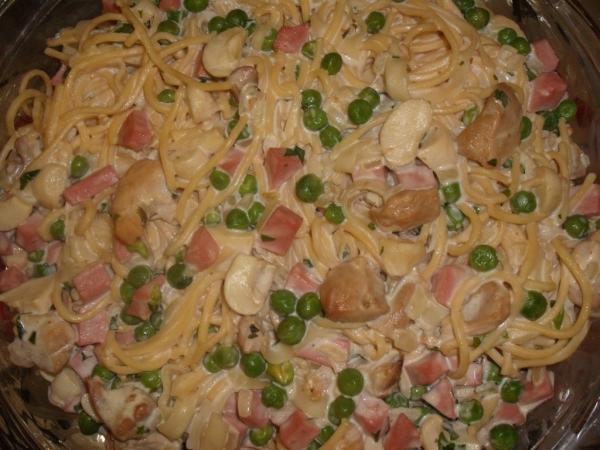 Espaguete à Francesa
