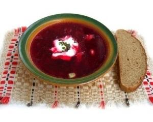 Borsch - Sopa Russa de Beterraba