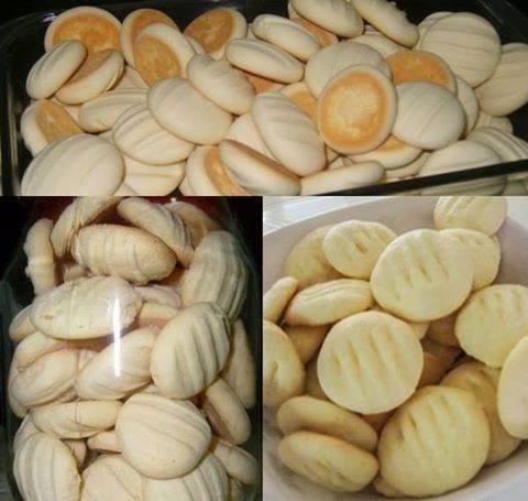 Biscoitinhos de Maisena com Coco