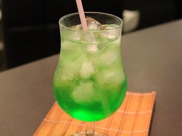 Soda italiana de maçã verde