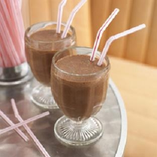 Chocolate gelado cremoso