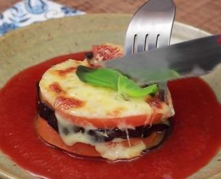 Berinjela ao molho de tomate