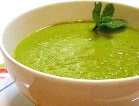 Sopa Verde de Alface (Vegetariano)