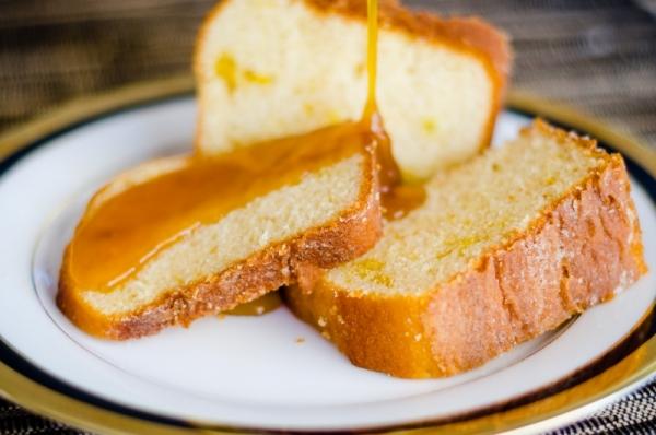 Cobertura de laranja para bolo