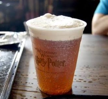 Cerveja Amanteigada do Harry Potter.
