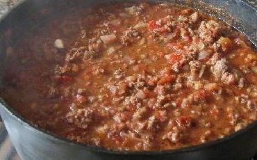 Chilli (feijão à mexicana)