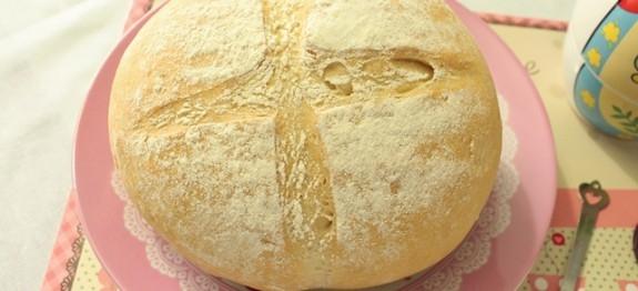 Pão Italiano (ou pão rústico)