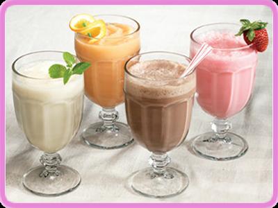 milk-shake reforçado