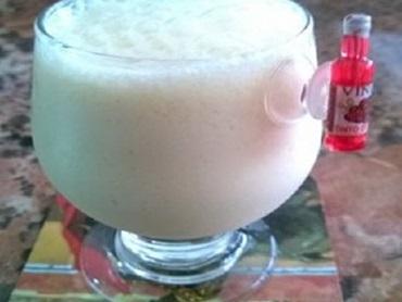 Coquetel de maracujá sem álcool