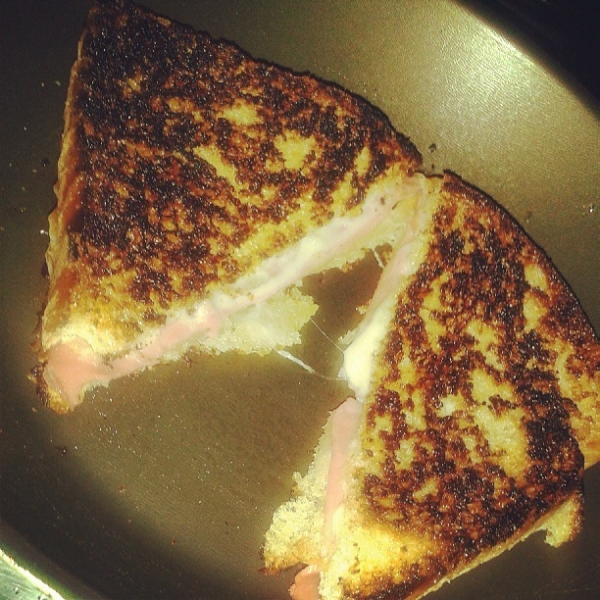 Grilled Cheese à minha moda
