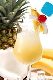 Drinque de abacaxi