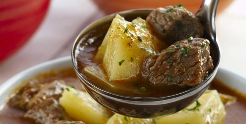 carne com batata doce