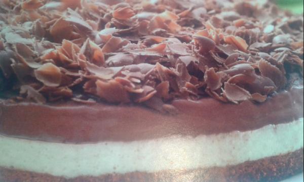 Torta fácil de limão e chocolate