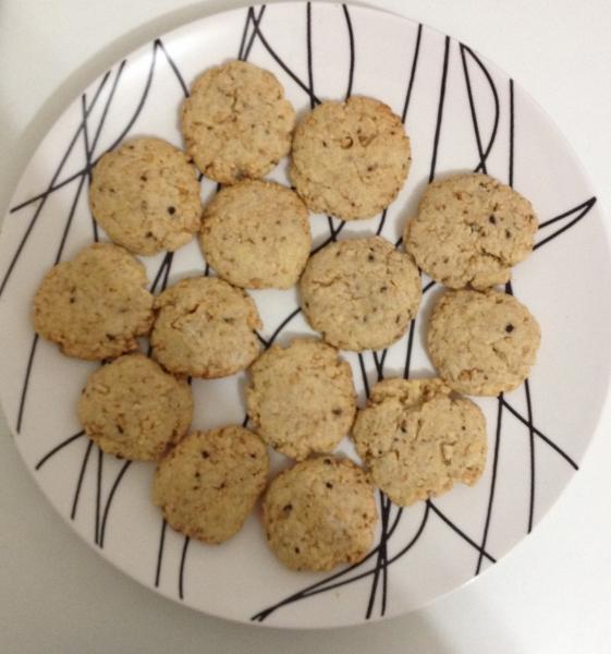 Cookies de Castanha de Caju