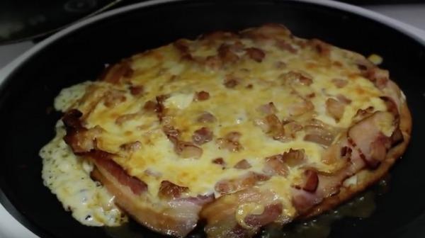 Pizza de Bacon MEGA recheada